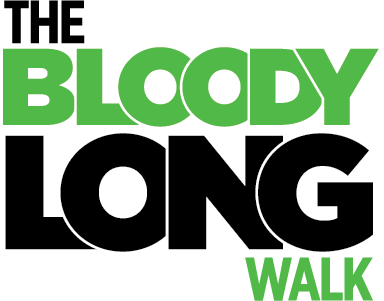The Bloody Long Walk Logo