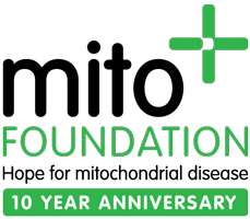 Mito Foundation 10 year anniversary logo