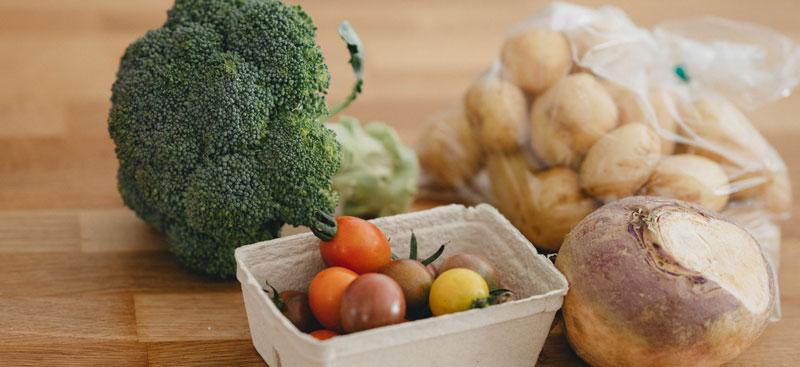 Variety of healthy vegetables